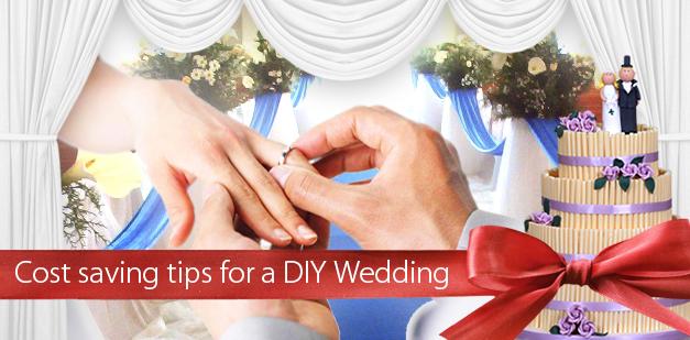 Cost saving tips for a DIY wedding.
