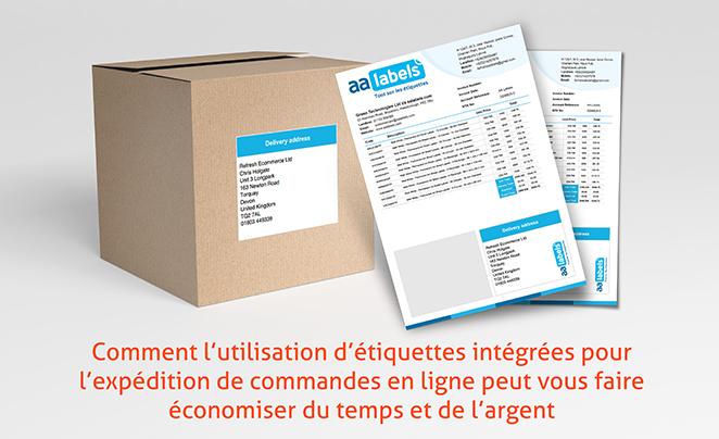 Comment l'utilisation d'étiquettes intégrées pour l'envoi de commandes de commerce électronique peut vous faire gagner du temps et de l'argent