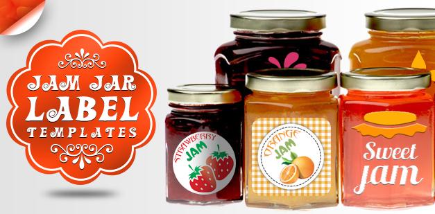 Jam Jar Label Templates: Great British Summer Design