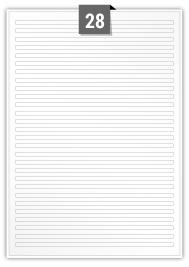 28 Rectangle Labels per A4 sheet