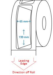65 mm x 199 mm / 63 mm x 95 mm Roll Labels