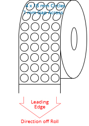 18 mm Diameter Roll Labels