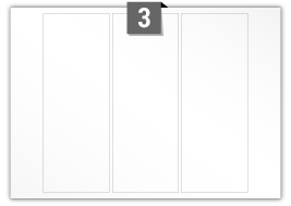 3 Rectangle Labels per SRA3 sheet