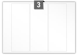3 Rectangle Labels per SRA3 sheet