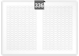 336 Rectangle Labels per SRA3 sheet