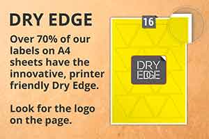 Dry Edge Labels