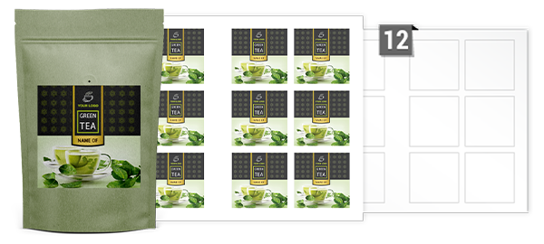 Square Labels For Printing On A3 Sheets