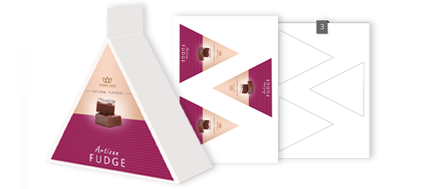 Triangle Shaped Labels On A4 Sheets