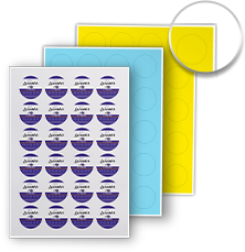Order Circle Label Sheets Online