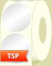 White Direct Thermal Semi Top Coat Paper