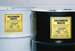 hazard chemical labels